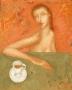"""""""Утренний кофе"""" 50X40cm. Картон, холст, масло."""